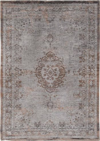 tapis Louis De Poortere AV 8257 Fading World Medaillon Grey Ebony