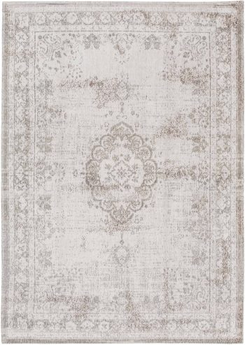 tapis Louis De Poortere AV 8383 Fading World Medaillon Salt Pepper